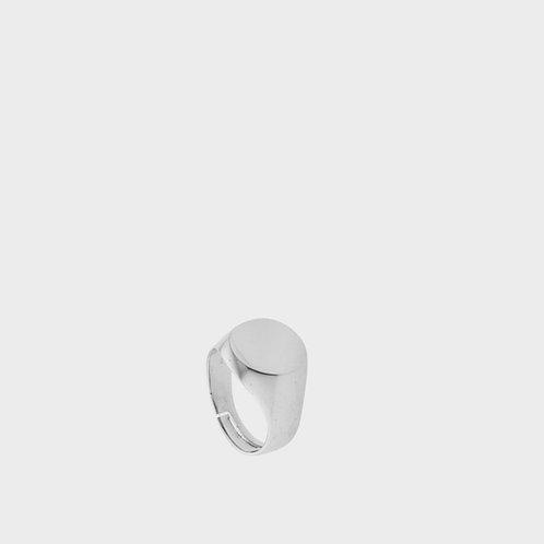 Anello sigillo argento grande