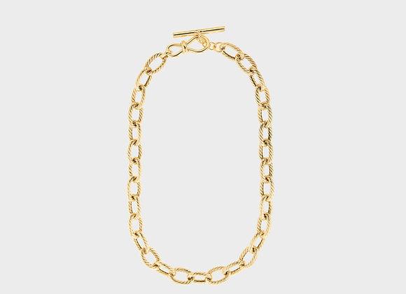 Collana catena spessa oro