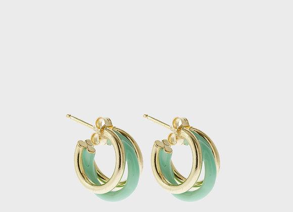 Trecerchi piccolo vert Marin oro