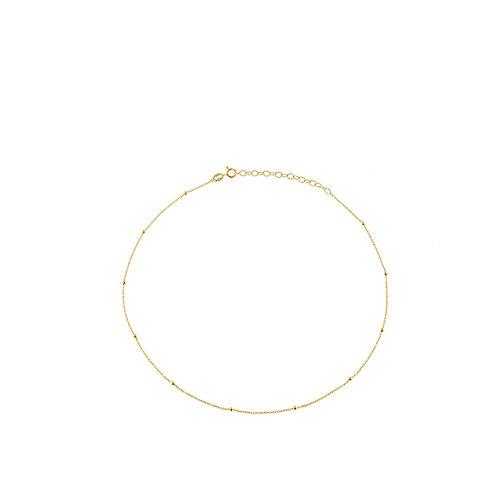 Collana pallini oro