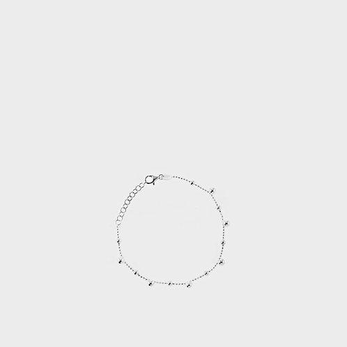 Bracciale sfere piccole argento
