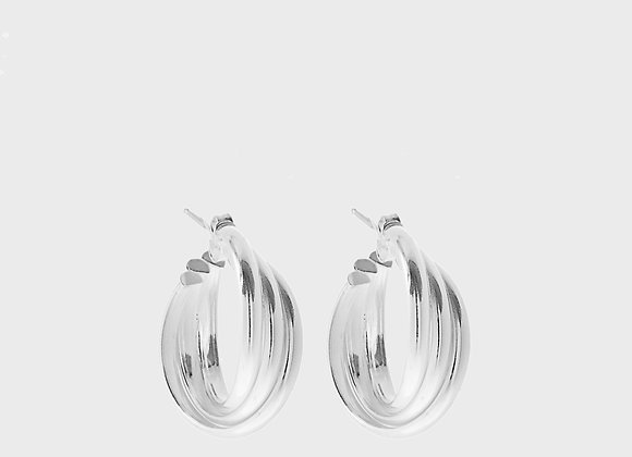 Orecchini Agave estate argento