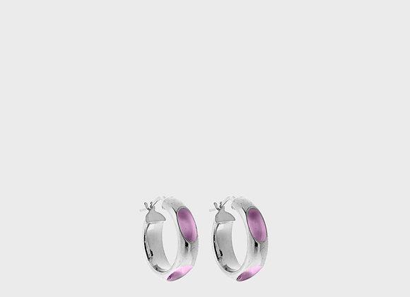 cerchio forato lilas argento piccolo