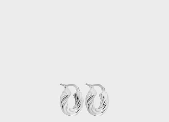Orecchini Viola estate argento