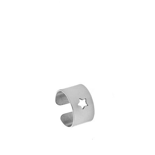 Anello argento stella
