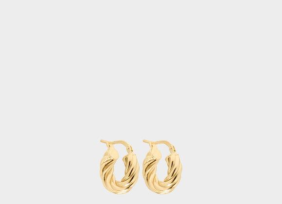 Orecchini Viola estate oro