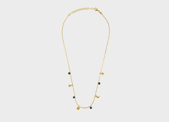 Collana Amelie e ciondoli oro