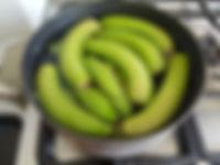 cooking green bananas