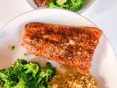 12 Minute Salmon Dinner