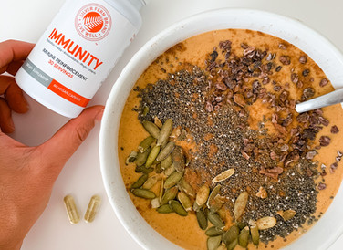 Immune Boosting Pumpkin Smoothie