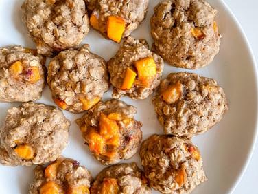 Oatmeal Peach Pie Cookies