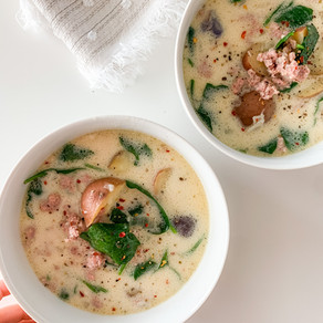 Healthier Zuppa Toscana Soup