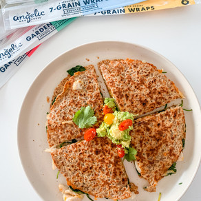 Healthy Chicken Quesadillas