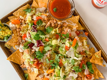Loaded Nachos (DF & GF)