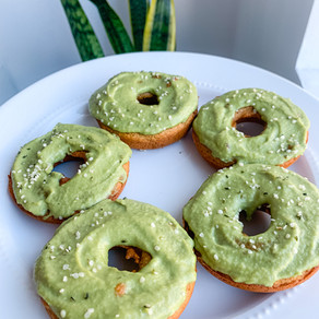 Matcha Protein Donuts 💚