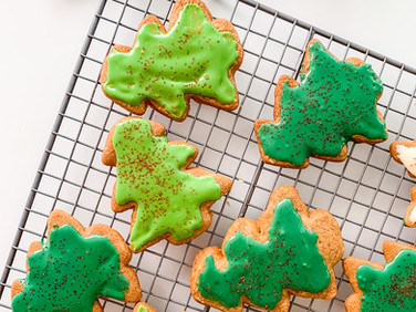 Paleo, GF Sugar Cookies