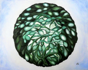 Green planet 50 x 40