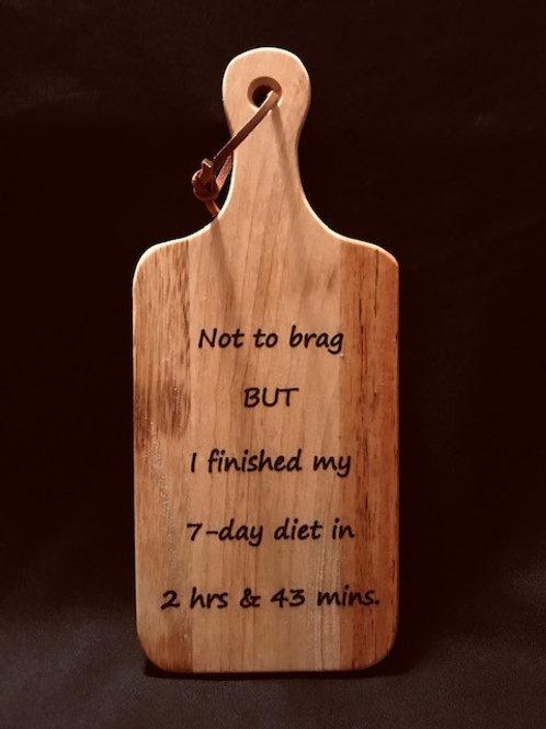 Bread Cutting Board #1052