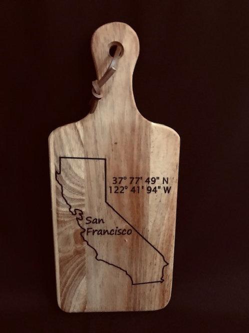 Bread Cutting Board #1055