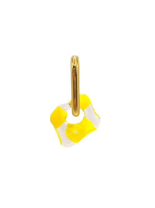 Amaan gold yellow earring