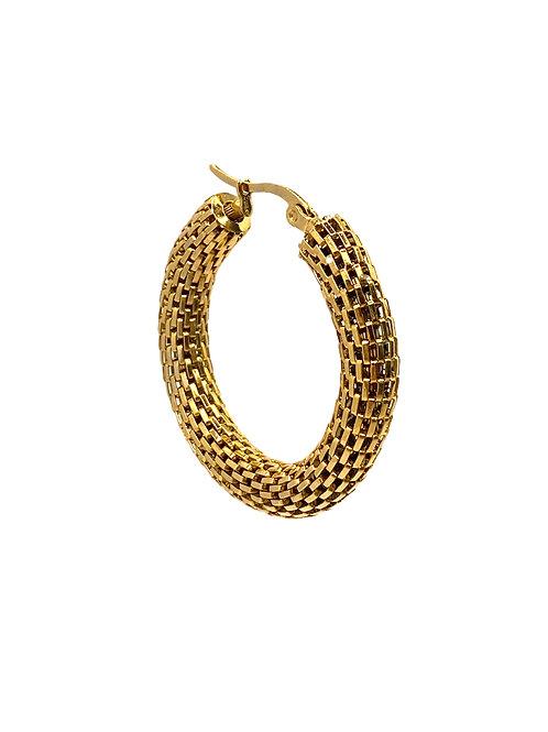 Jai gold earring