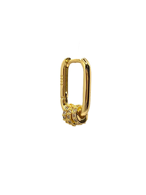 Chilla gold earring