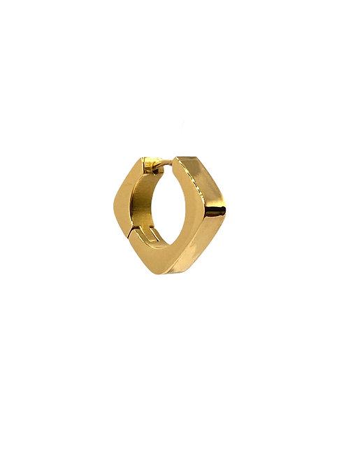 Imani gold earring