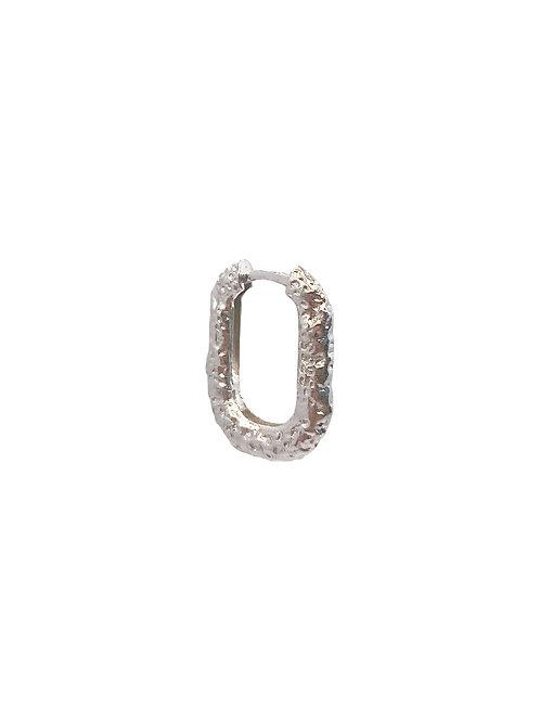 Liu silver earring