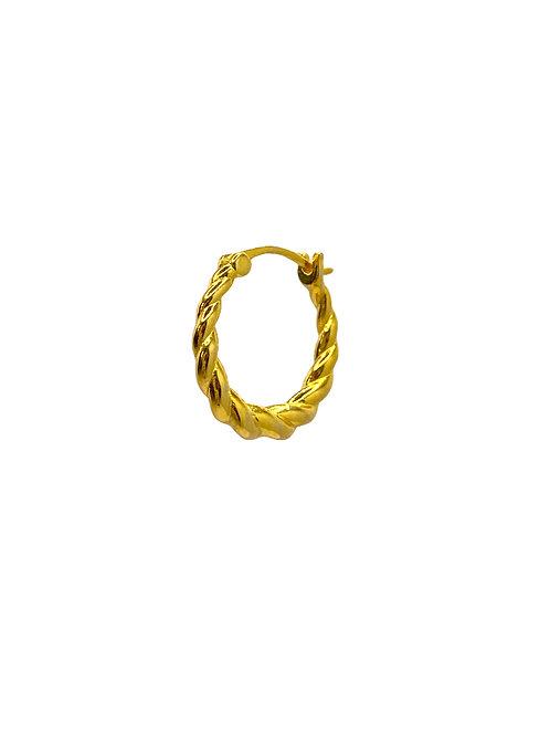 Jean gold earring