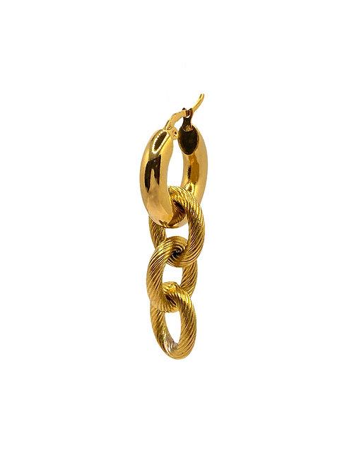 Charles gold earring