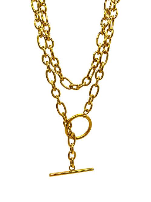 Treach gold chain
