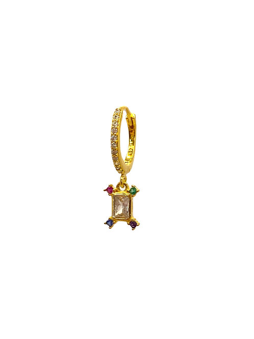 Zian gold earring