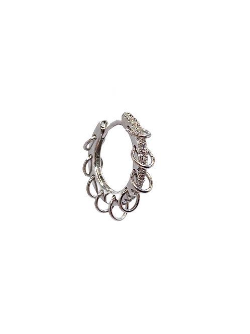 Destiny silver earring