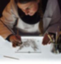 Aurélie Gauthier, peintre verrier