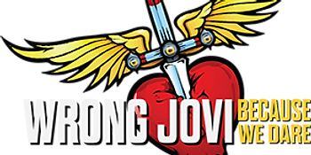 Bon Jovi Tribute Band Wrong Jovi Logo
