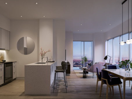 Penthouse and Townhome Collections at Avia
