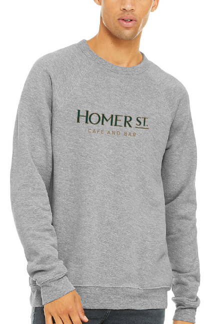 Homer Logo Sweatshirt - Grey