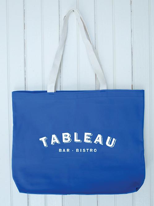 Tableau Tote Bag - Blue