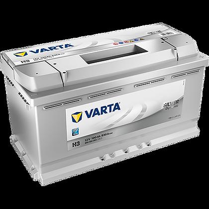 VARTA H3 100 Ah 830A (EN) Silver Dinamic