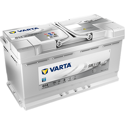 VARTA G14 95 Ah 850A (EN) Silver Dinamic AGM Start Stop