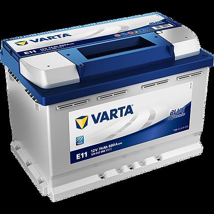 VARTA E11 74 Ah 680A (EN) Blue Dinamic