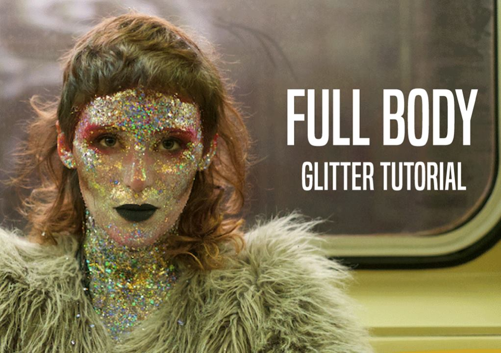 Tash's Full Body Glitter Tutorial