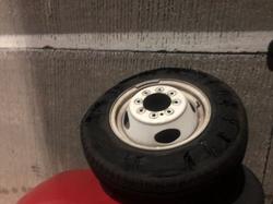 truck tire installation
