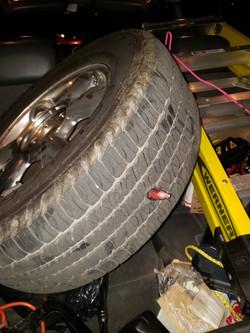 CO2 catridge tire change