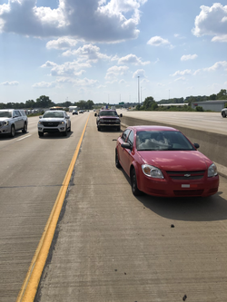 Highway tire change in indianapolis