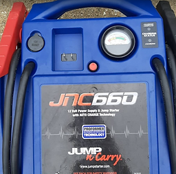 portable jump start equipment
