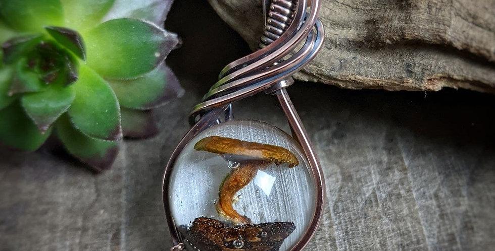 "Miniatur Pilz Amulett ""Bonsai"""