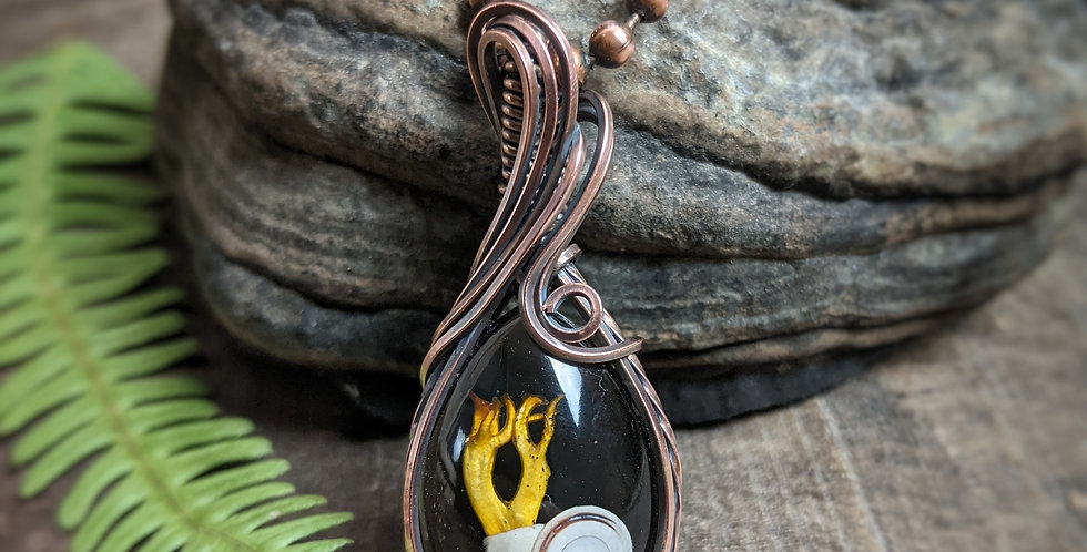 """Schnecken Amulett """"Nautilus"""""""