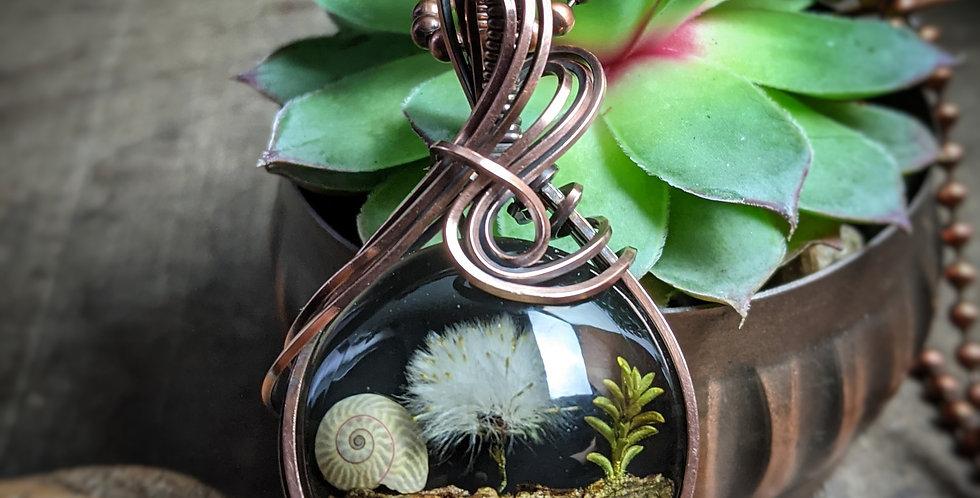 Mini Pusteblumen Amulet