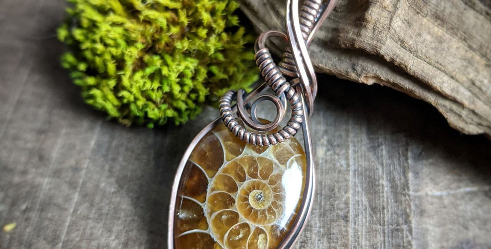 Ammonit Amulett